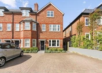 Thumbnail 4 bed end terrace house to rent in Warren Close, Esher