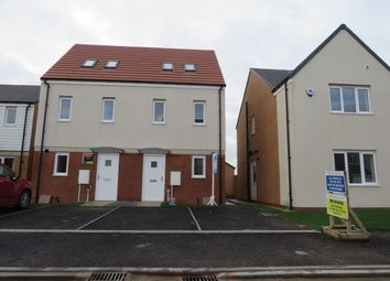 Thumbnail 3 bed semi-detached house to rent in Marine Point, Hartlepool