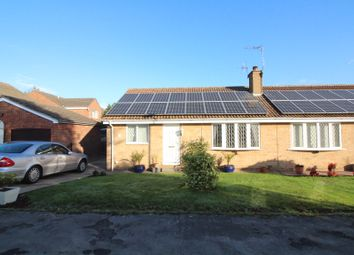 Thumbnail 2 bed bungalow for sale in Walnut Crescent, Snaith, Goole