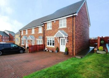 Thumbnail 3 bed end terrace house for sale in Bancroft Avenue, Lindsayfield, East Kilbride, South Lanarkshire