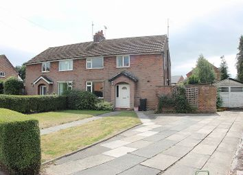 4 Bedrooms Semi-detached house for sale in Ash Road, Sandiway, Northwich, Cheshire. CW8