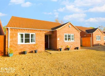 Thumbnail 3 bed detached bungalow for sale in Ramnoth Road, Wisbech, Cambridgeshire