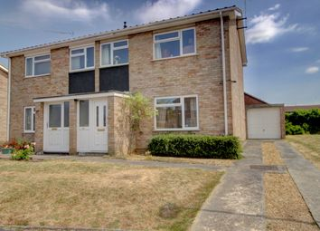 Thumbnail 3 bed semi-detached house for sale in Andrews Crescent, Peterborough