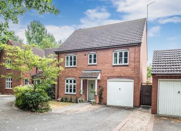 Thumbnail 4 bed detached house for sale in Purser Drive, Chase Meadow Square, Warwick