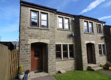 Thumbnail 3 bed town house for sale in Valley Heights, Denholme, Bradford