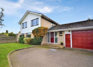 Thumbnail 4 bed detached house to rent in North End, Bassingbourn, Royston