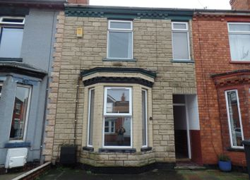 Thumbnail 3 bed terraced house to rent in Robey Street, Lincoln