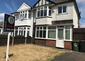 Thumbnail 3 bed semi-detached house for sale in Moseley Road, Wolverhampton