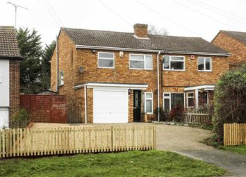 Thumbnail 3 bed semi-detached house to rent in Station Road, Bow Brickhill, Milton Keynes