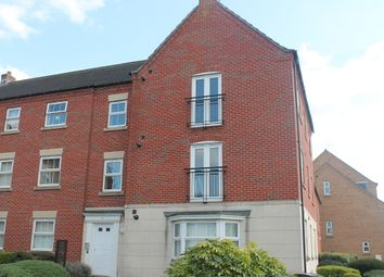 Thumbnail 2 bed flat for sale in Greenfinch Crescent, Within St Hughes, Lincolnshire