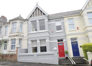 Thumbnail 3 bed terraced house for sale in Home Park Avenue, Plymouth