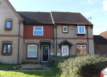 Thumbnail 2 bed terraced house to rent in Chessington Close, Bedford