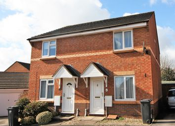 Thumbnail 2 bed semi-detached house to rent in Steps Close, Exeter