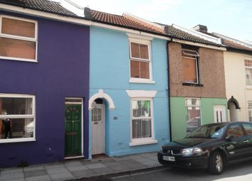 Thumbnail 2 bed terraced house to rent in Exmouth Road, Southsea