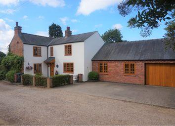 Thumbnail 4 bed detached house for sale in Smeeton Road, Saddington