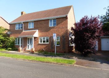 Thumbnail 4 bed detached house for sale in Hotchkin Avenue, Saxilby, Lincoln
