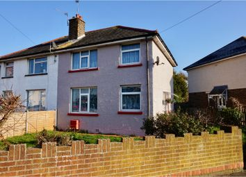 Thumbnail 3 bed semi-detached house for sale in Collyer Avenue, Bognor Regis