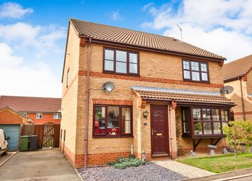 Thumbnail 2 bed semi-detached house for sale in Clover Way, Fakenham