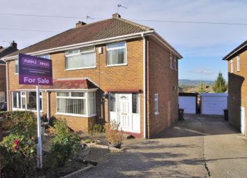 Thumbnail 3 bed semi-detached house for sale in Concord View Road, Kimberworth, Rotherham
