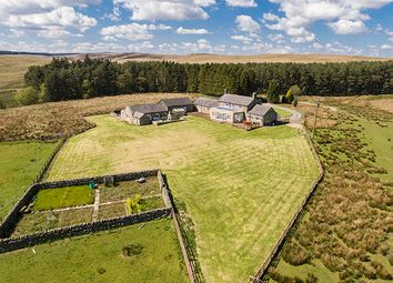 Thumbnail 6 bed farmhouse for sale in West High Ridge, Wark, Hexham, Northumberland