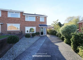 Thumbnail 3 bed semi-detached house for sale in Abbotts Close, Bagillt