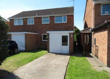 Thumbnail 3 bed semi-detached house for sale in Haston Close, Hereford