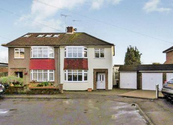 Thumbnail 3 bed semi-detached house for sale in Royce Close, Broxbourne, Herts