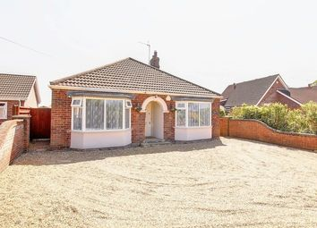 Thumbnail 3 bed detached bungalow for sale in One Way Street, Sutterton, Boston