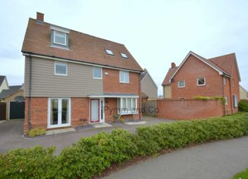 Thumbnail 5 bed detached house to rent in Poethlyn Drive, Costessey, Norwich