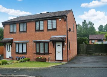 Thumbnail 2 bedroom semi-detached house for sale in Long Lane Drive, Madeley, Telford, Shropshire.