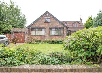 Thumbnail 4 bed detached bungalow for sale in Woodlands Road, Worsley, Manchester
