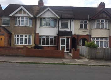 Thumbnail 3 bed terraced house to rent in Grosvenor Road, Luton
