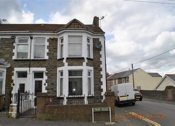 Thumbnail 3 bed end terrace house for sale in Park Road, Bargoed