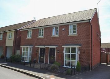 Thumbnail 3 bed semi-detached house for sale in Narrowboat Lane, Pineham Lock, Northampton