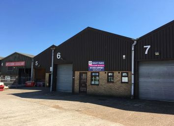 Thumbnail Light industrial to let in Unit 6 Hilton Business Centre, Wotton Road, Ashford, Kent