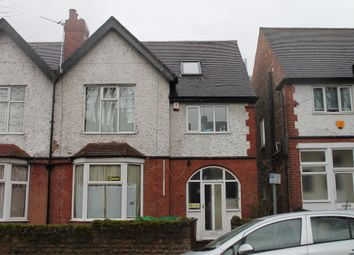 Thumbnail 8 bedroom semi-detached house to rent in Harlaxton Drive, Lenton, Nottingham