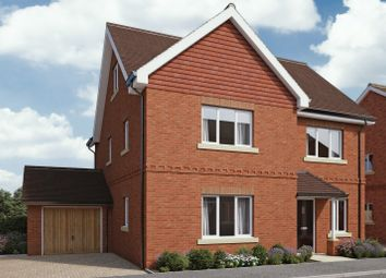 Thumbnail 5 bed detached house for sale in The Ridings, Sulham Hill, Tilehurst, Reading