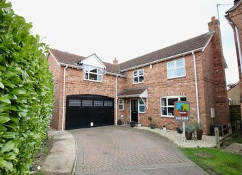 Thumbnail 5 bedroom detached house for sale in Northfield Rise, Saxilby, Lincoln