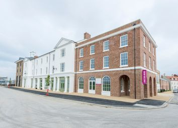 Thumbnail 2 bed flat for sale in Crown Square, Poudbury, Dorchester