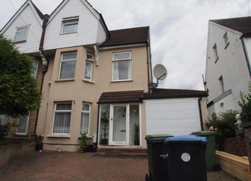 Thumbnail 4 bed semi-detached house for sale in Osborne Road, Enfield