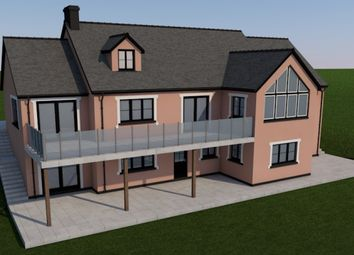 Thumbnail 6 bed detached house for sale in Cefn Farm Development, Rhydargaeau, Carmarthen