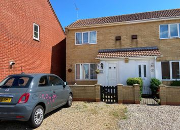 Thumbnail 1 bed semi-detached house for sale in Wright Close, Caister-On-Sea, Great Yarmouth