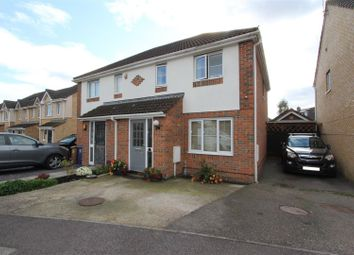 Thumbnail 3 bed semi-detached house for sale in Jade Close, Sittingbourne