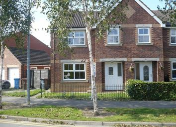 Thumbnail 4 bed semi-detached house to rent in Lindengate Avenue, Hull