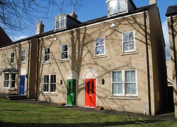 Thumbnail 3 bed town house to rent in Queens Road, Bury St. Edmunds