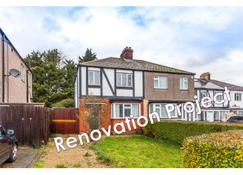 Thumbnail 3 bed semi-detached house for sale in Ravenor Park Road, Greenford