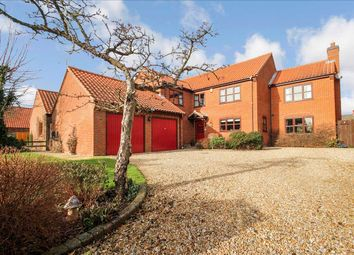 Thumbnail 5 bedroom detached house for sale in Maidenwell Lane, Navenby, Lincoln