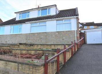 Thumbnail 2 bed semi-detached house for sale in Sefton Avenue, Hove Edge, Brighouse.
