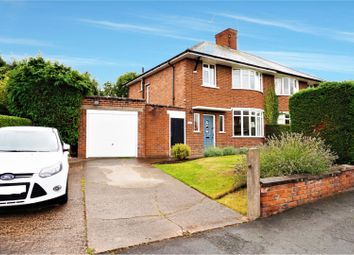 Thumbnail 3 bed semi-detached house for sale in Glyndwr Road, Wrexham