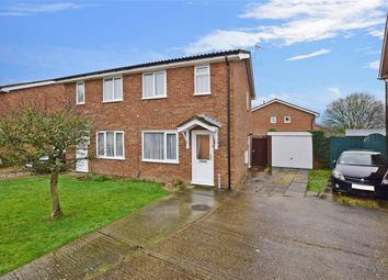 Thumbnail 2 bed semi-detached house for sale in Wood Cottage Lane, Folkestone, Kent